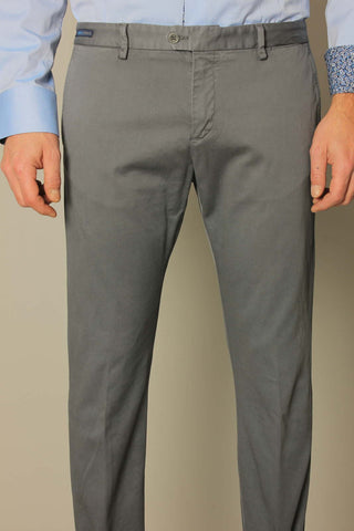 Paul & Shark Trousers Chino Shark Fit | Grey