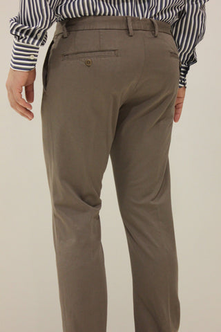 Paul & Shark Trousers Chino Shark Fit | Chocolate