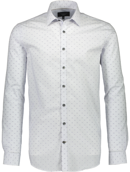 Lindbergh Shirt Small Checked | White