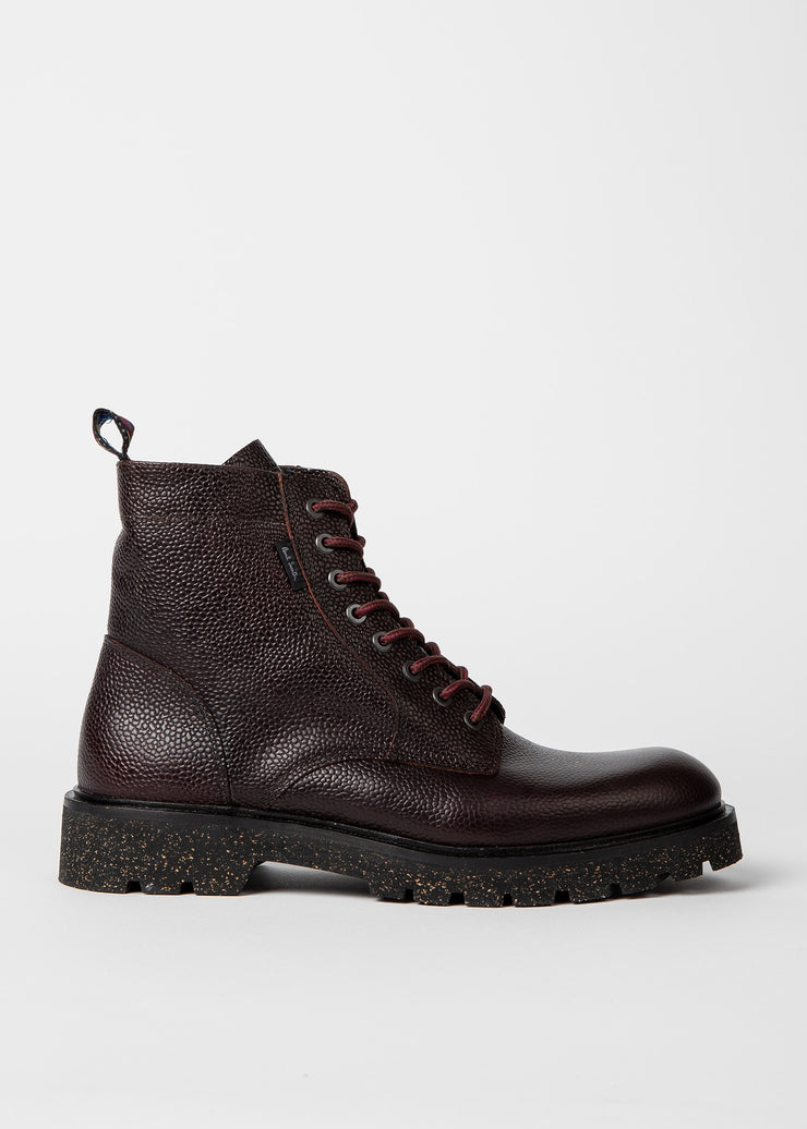 Paul Smith Boots Leather | Burgundy