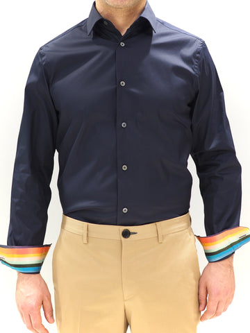 Paul Smith Shirt Stretch | Blue