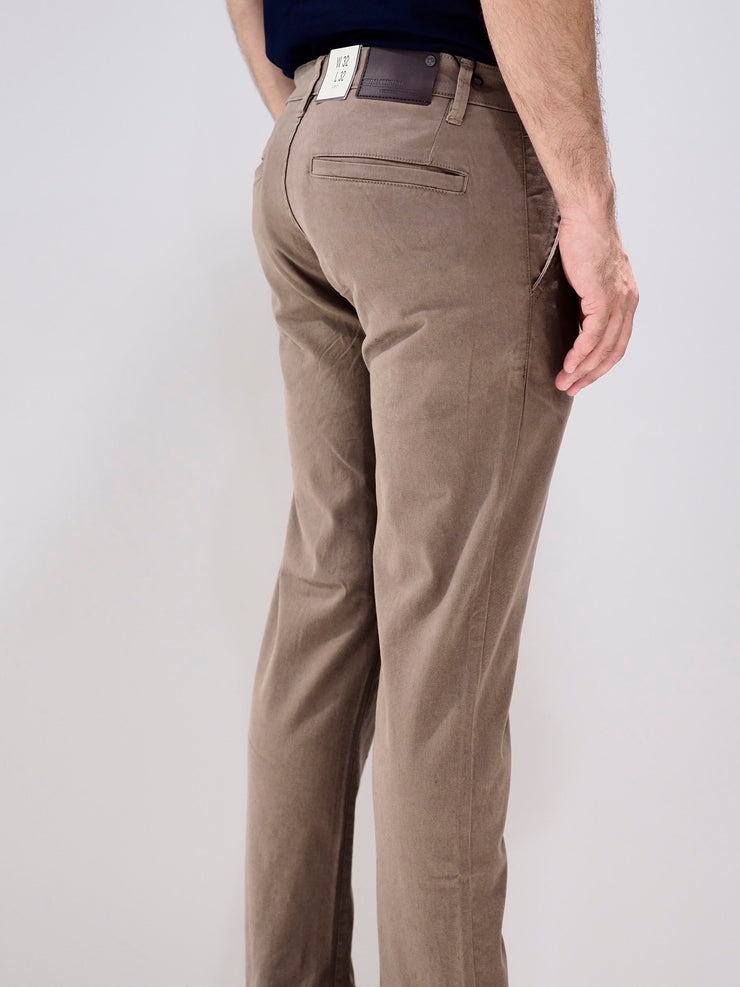 Shine Original Chino Trousers Slim fit | Dark Sand