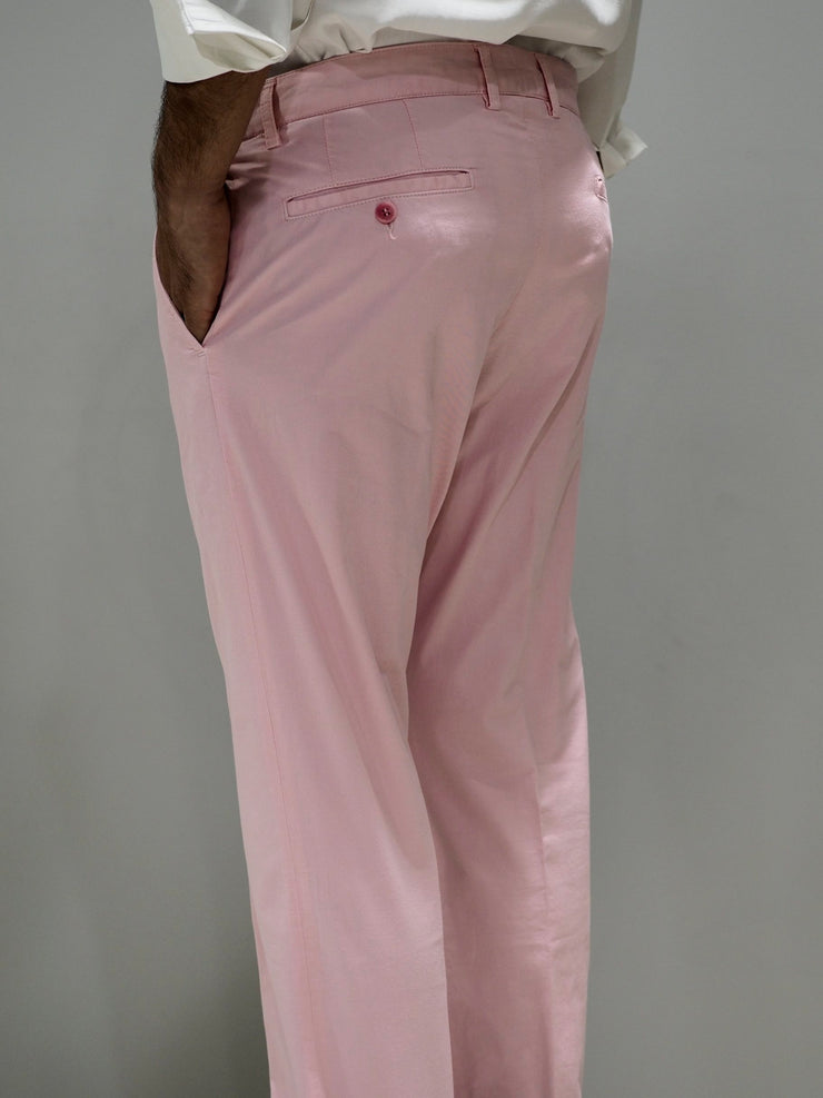 Paul & Shark Trousers Regular Fit Chino | Pink