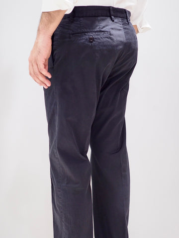 Paul & Shark Trousers Regular Fit Chino | Black