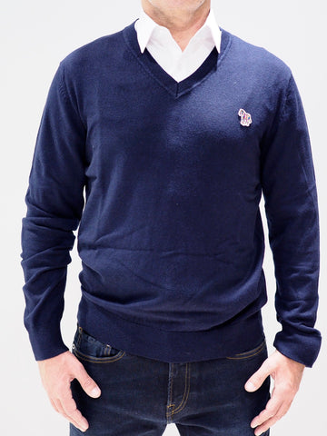 Paul Smith Sweater V-neck | Dark Navy