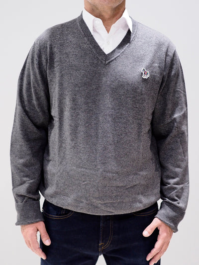 Paul Smith Sweater V-neck | Grey