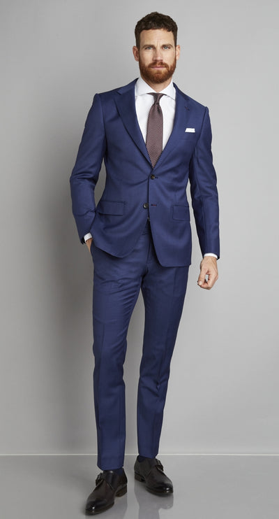 Van Gils Suit Ellis Single Breasted | Blue