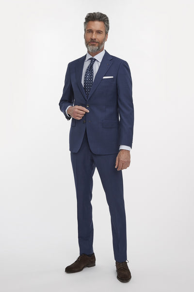 Van Gils Suit Ellis Plain | Blue