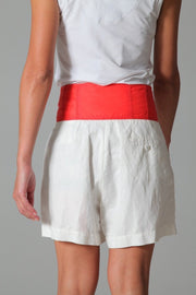 Armani Jeans Women's Shorts Armani Jeans Shorts | WHITE / RED