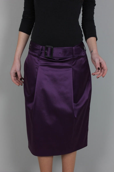 Burberry Women's Skirt Burberry Skirt | PURPLE