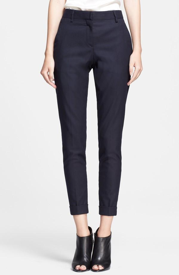 Burberry Women's Trousers Burberry Trousers | NAVY