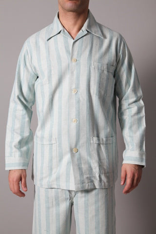 Derek Rose Men's Pyjamas Derek Rose Pyjamas | PALE GREEN