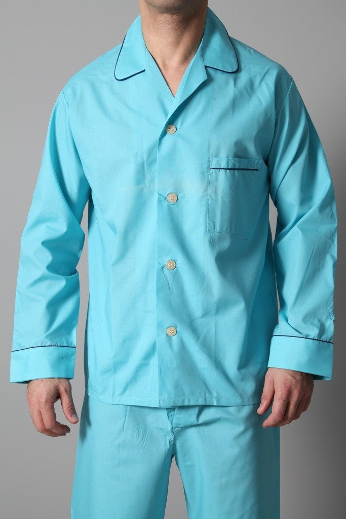 Derek Rose Men's Pyjamas Derek Rose Pyjamas | TURQUOISE
