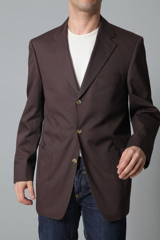 Eduard Dressler Men's Jacket Eduard Dressler Jacket | DARK BROWN