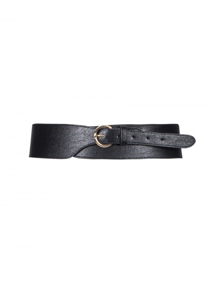 Anonyme Belt leather High Faux | Black