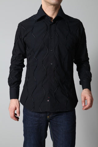 Lagerfeld Men's Shirt Lagerfeld Shirt | BLACK