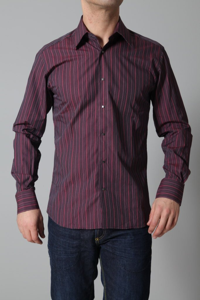 Lagerfeld Men's Shirt Lagerfeld Shirt | PURPLE
