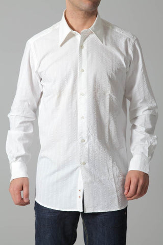 Lagerfeld Men's Shirt Lagerfeld Shirt | WHITE