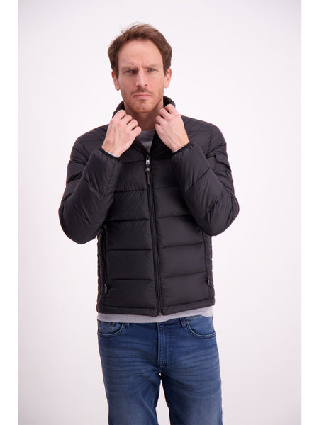 Lindbergh Jacket Quilted | BLACK