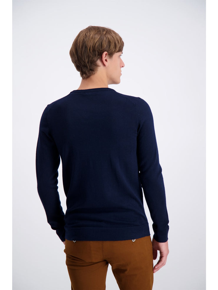 Lindbergh Sweater Roundneck | Navy