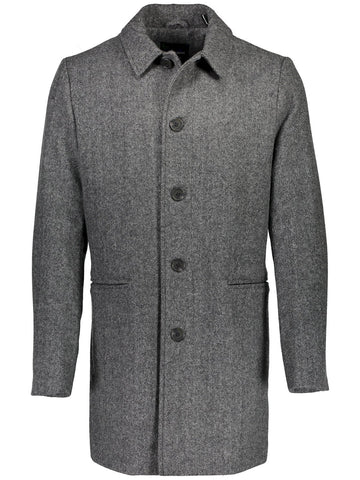 Lindbergh Men's Coat Lindbergh Coat Classic | DARK GREY