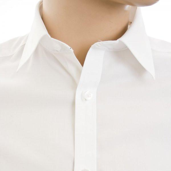 Lindbergh Men's Shirt Lindbergh Shirt Stretch | WHITE