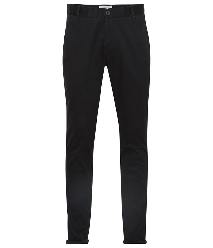 Lindbergh Men's Trousers Lindbergh Trousers Classic Chino with Stretch | BLACK