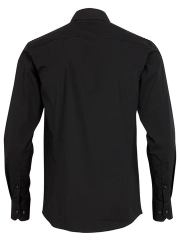 Lindbergh Shirt Stretch | Black