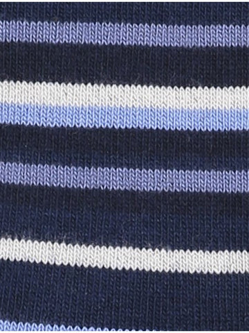 Lindbergh Socks Stripes Bamboo | Dark Blue