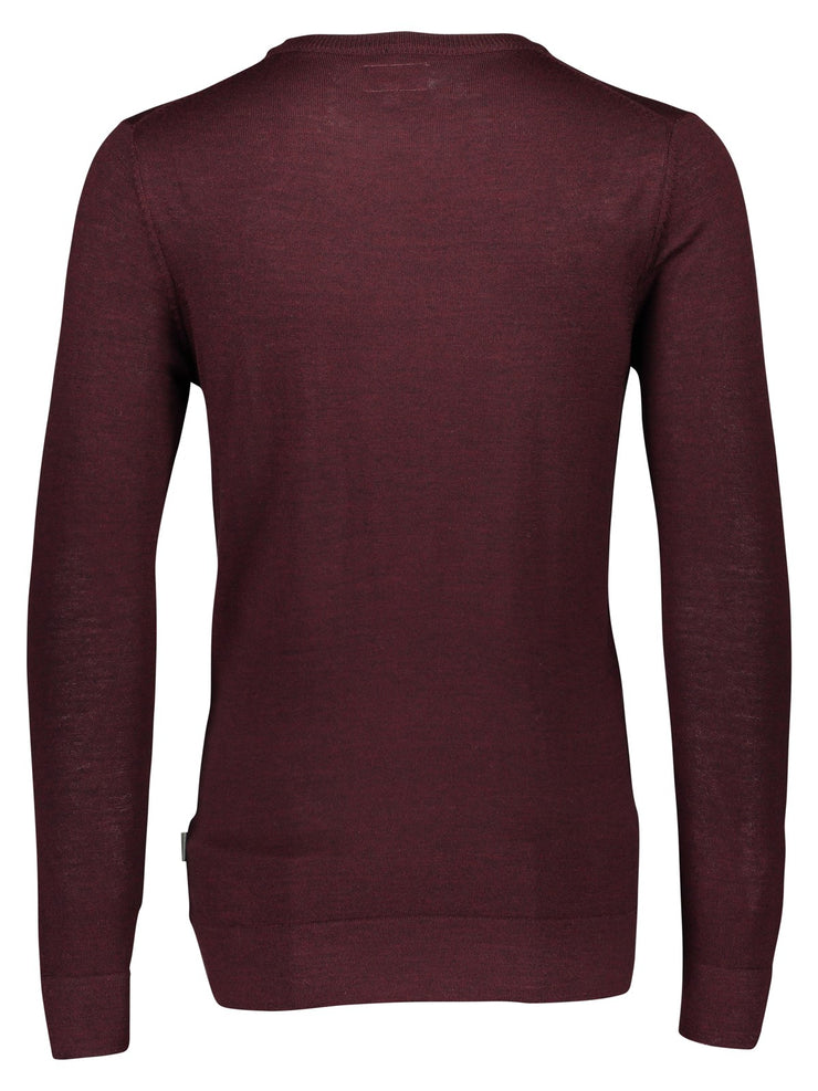 Lindbergh Sweater Jumper | Dark Purple