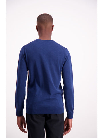 Lindbergh Sweater Jumper V | Blue