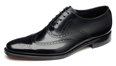 Loake Men's Shoes Loake Shoes Jones | BLACK