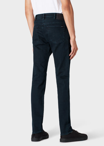 Paul Smith Jeans Ove-Dyed Men's Slim-Standard 'Crosshatch Stretch' | Navy