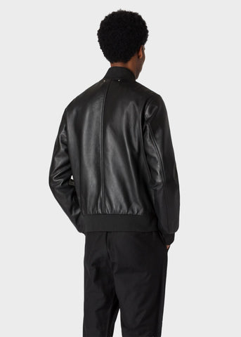 Paul Smith Jacket Leather Bomber | Black