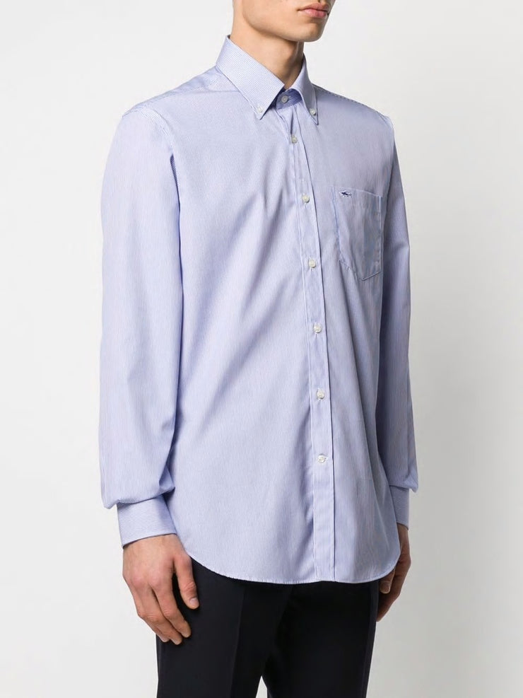Paul & Shark Shirt Button Down Regular Fit | Light Blue