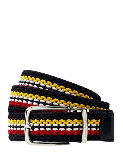 Paul & Shark Belt Multicolor | Yellow / Red / Navy