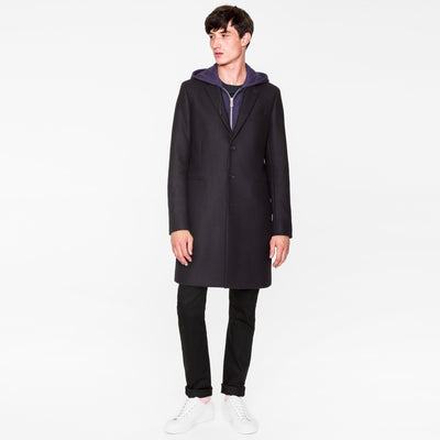 Paul Smith Men's Coat Paul Smith Coat Wool-Cashmere | DARK NAVY