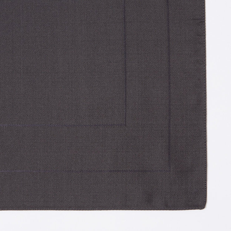 Paul Smith Pochette Paul Smith Pocket Square Concentric Pattern Silk | BLACK