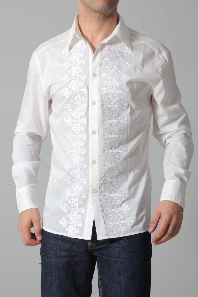 Roberto Cavalli Shirt   WHITE – MAGASINS Giannopoulos   Vêtements ... 82a53dad8057