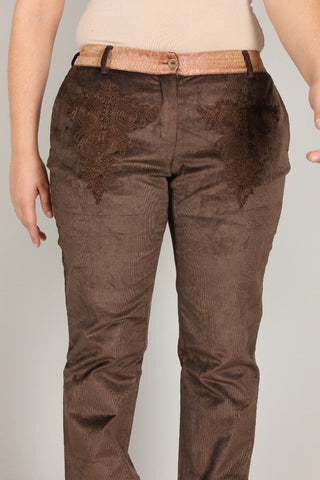 Roberto Cavalli Trousers | BROWN