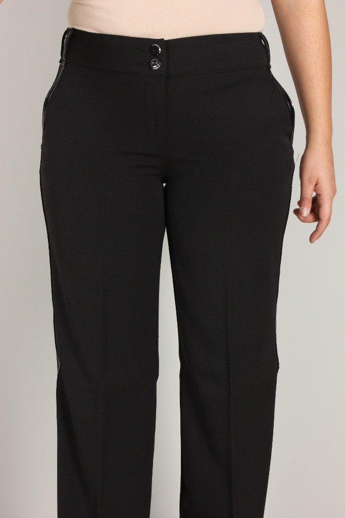 RoccoBarocco Women's Trousers RoccoBarocco Trousers | BLACK