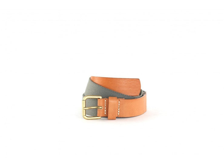 Royal Republiq Men's Belt Royal Republiq Belt Gent Canvas | GREY TAN