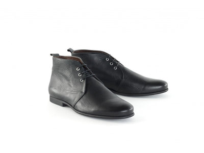 Royal Republiq Men's Shoes Royal Republiq Shoes Cast Derby Midcut | BLACK