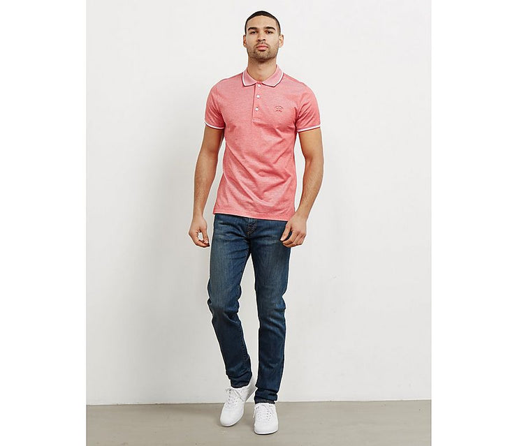 Paul & Shark Polo Color Trim Regular Fit | Red
