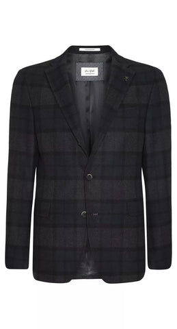 Van Gils Men's Jacket Van Gils Jacket Check Estavan | DARK BLUE