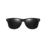 Classic style sunglasses with matte finish