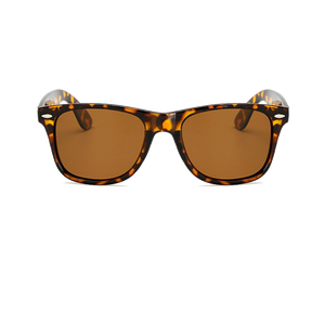 Retro, Brown Leopard framed sunglasses