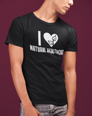 I Love Natural Healthcare Men's T-shirt - Echo Essential Wear - Essential Oil T-Shirt Fashion