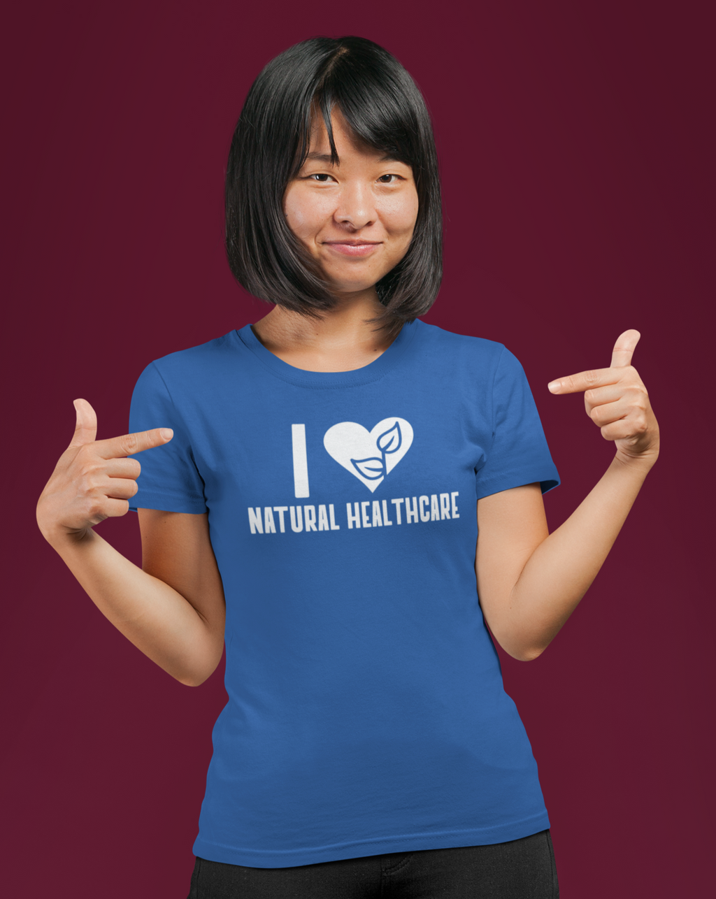 I Love Natural Healthcare T-shirt - Echo Essential Wear