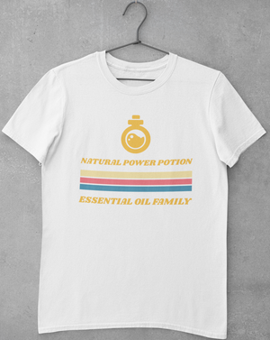 Natural Power Potion Retro Men's T-shirt - Echo Essential Wear